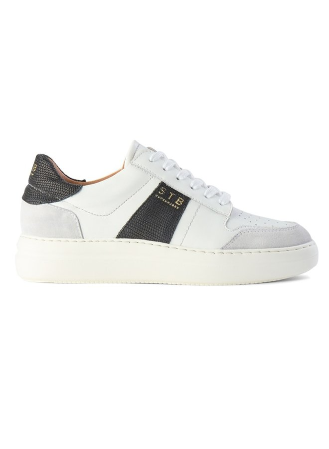 Vinca Trainers - White/Black