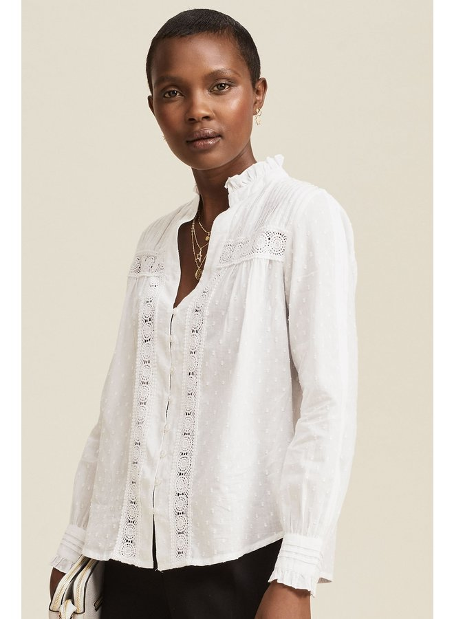 Carrie Blouse - White