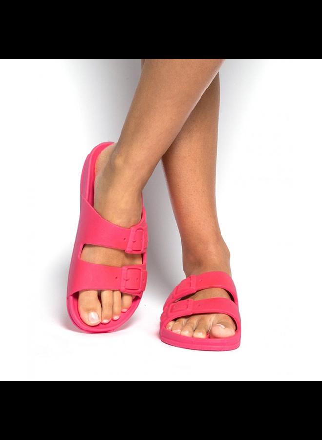 Bahia Sandal - Pink Fluro