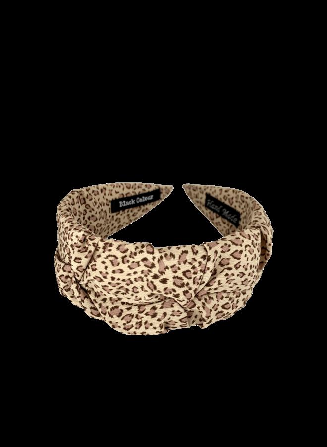 Napoli hairband - Beige Rose