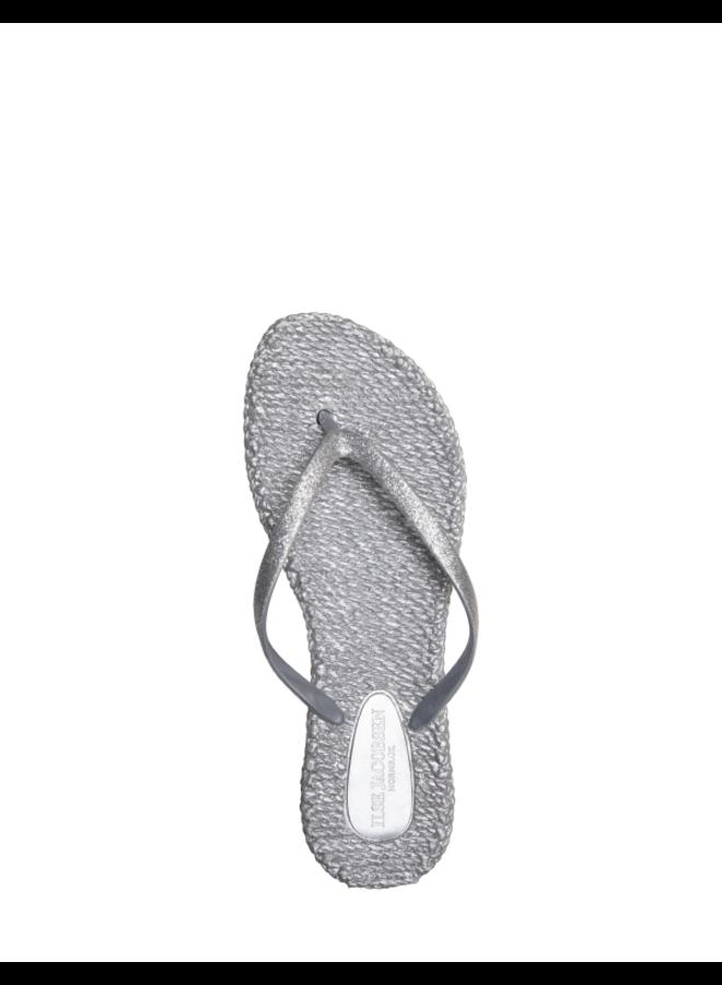 Cheerful Flip Flop - Silver