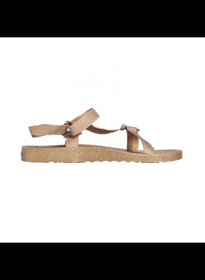 Manaus Glitter Sandal - Gold