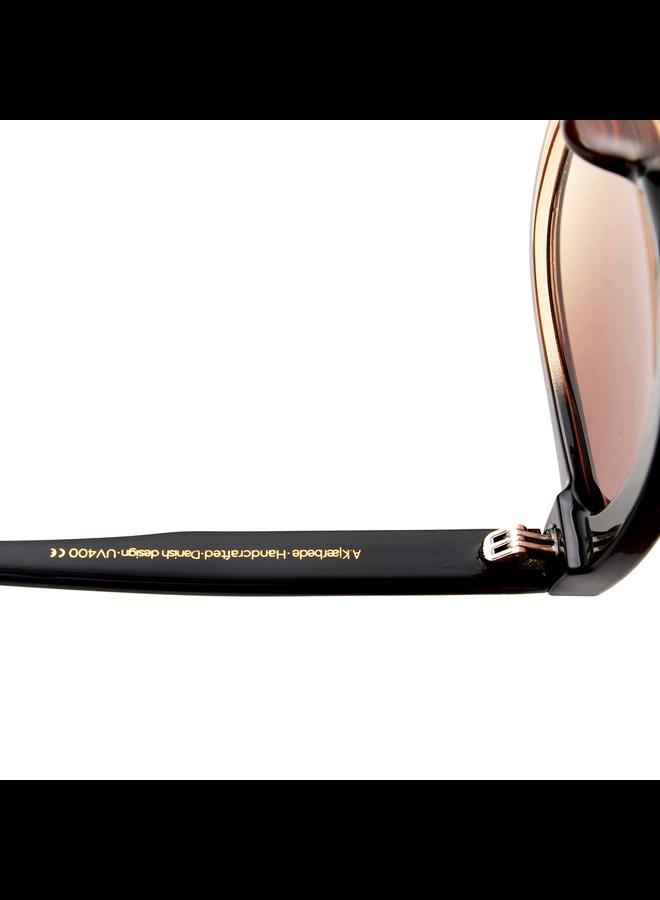 Billy Sunglasses - Black/Brown Transparent