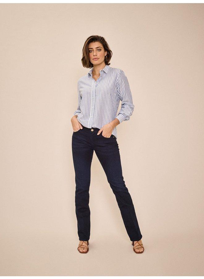 Sumner Flare Jeans - Dark Blue
