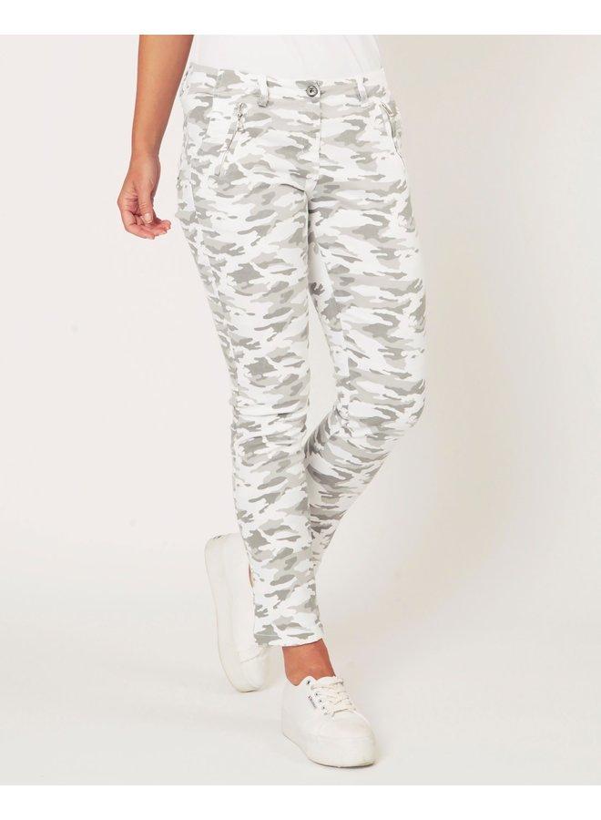 Camouflage Combat Pants - Grey Camouflage