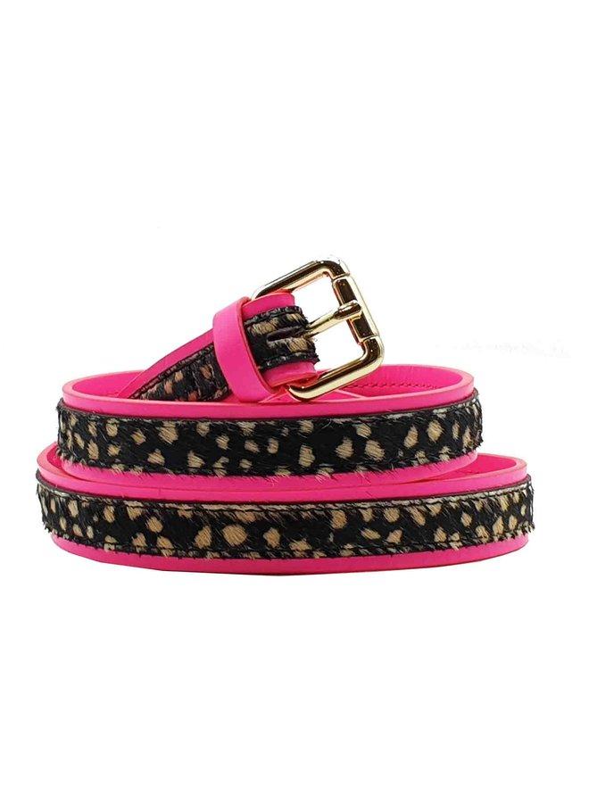 Martini belt - Neon Pink