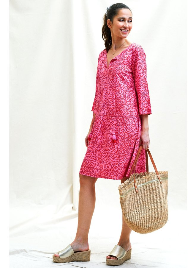 Lilian Lenzing Dress - Pink