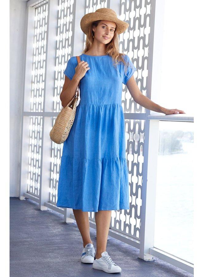 Sandra Dress - Marina Blue
