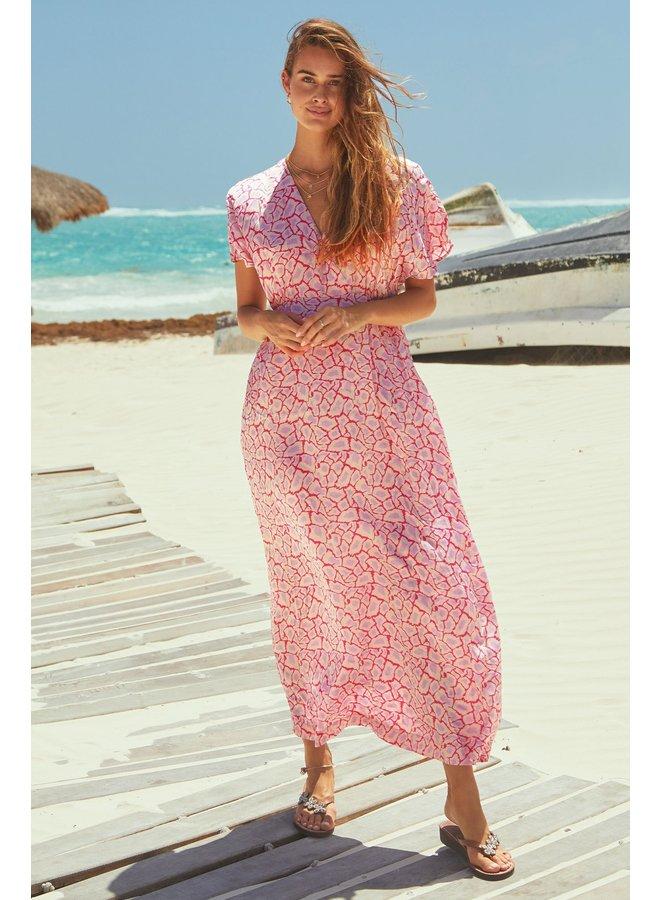 Keira Dress - Pink/Lilac