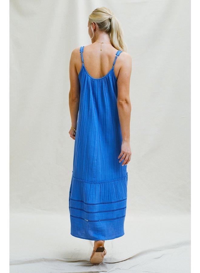 Frankie Dress - Marina Blue