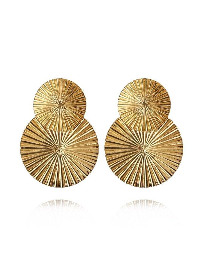 254575 Odessa Earring Gold Metal