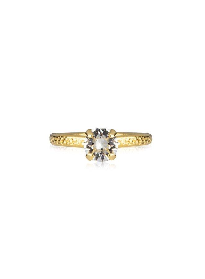 244972 Natti Ring Gold Crystal