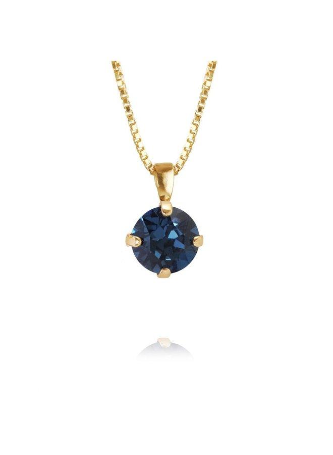 225841 Classic Petite Necklace Rhodium Montana