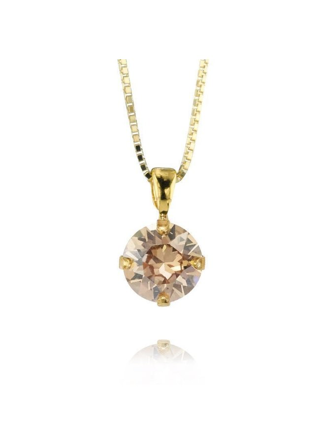 225377 Classic Petite Necklace Gold Shadow