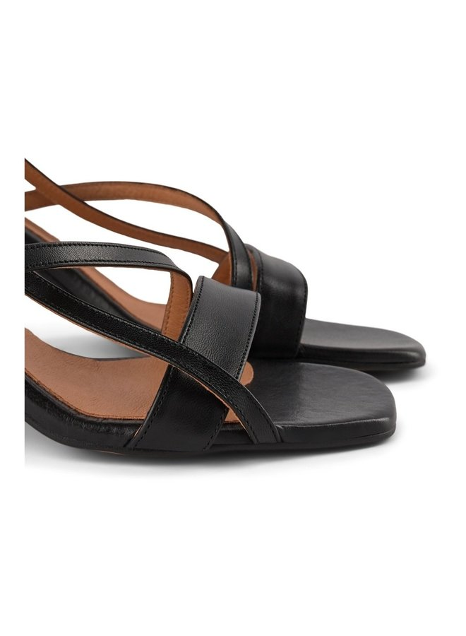 Rosana Strap Sandal - Black