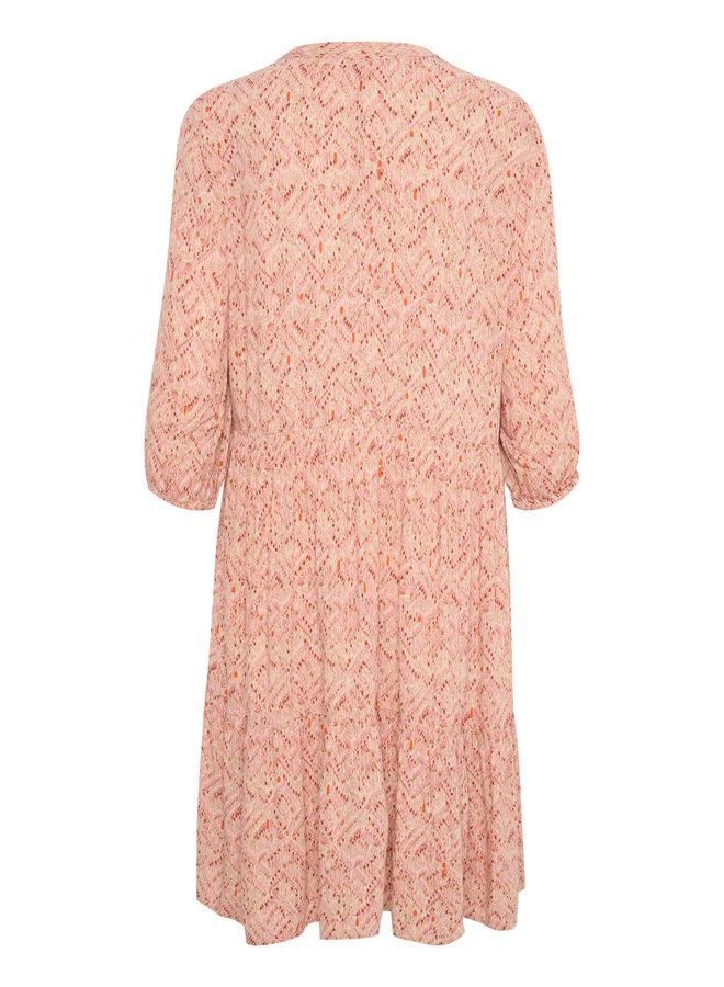 Gora Dress - Smoke Indian Batik