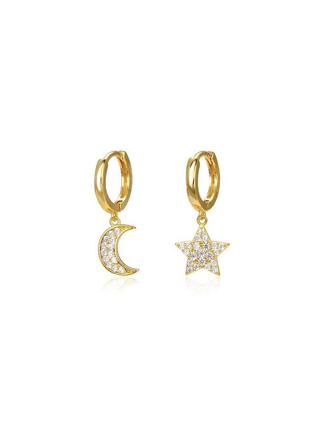 E8015 Fairytale Earrings - Gold