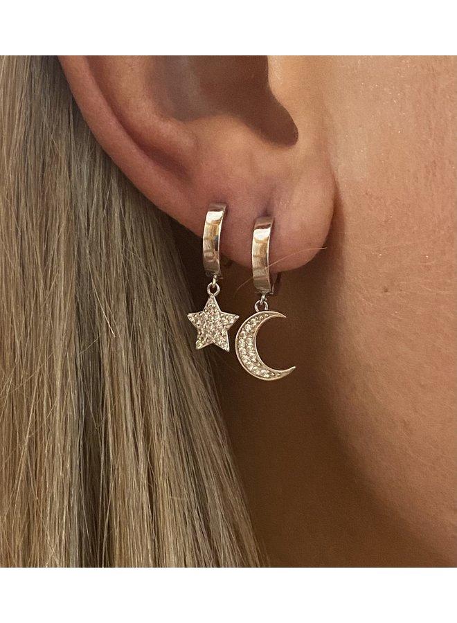 E8015s Fairytale Earrings - Silver