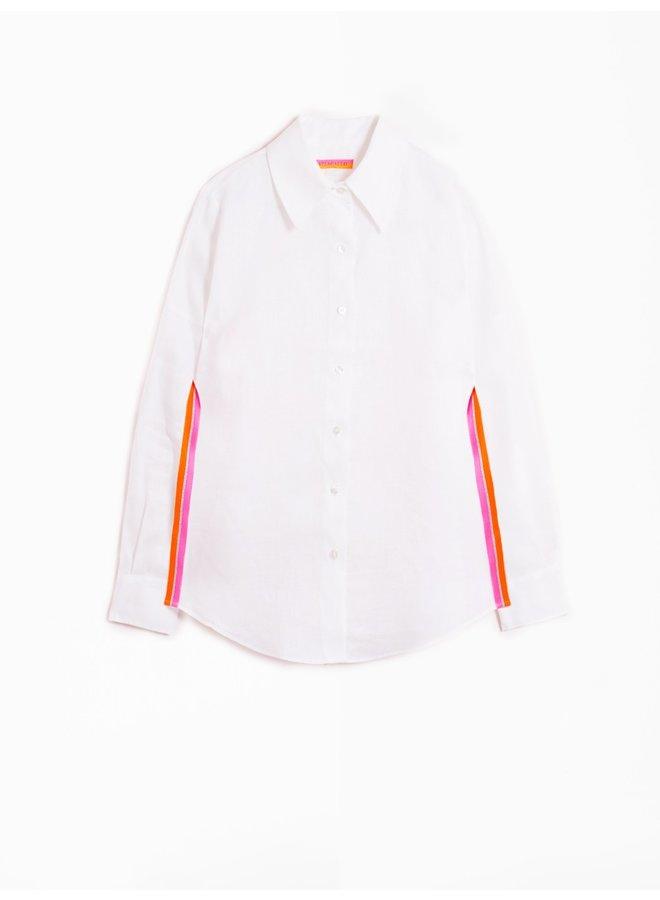 Mafalda Linen Shirt - White