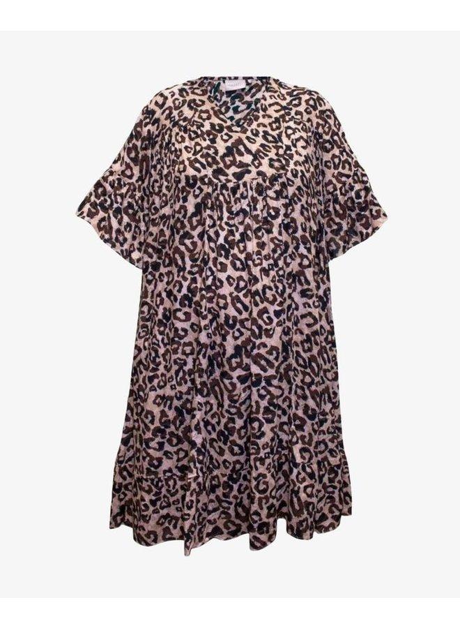 Unique Dress - Leopard