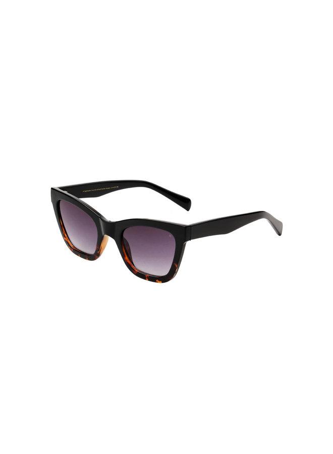 Big Kanye Sunglasses - Black/Demi Tortoise