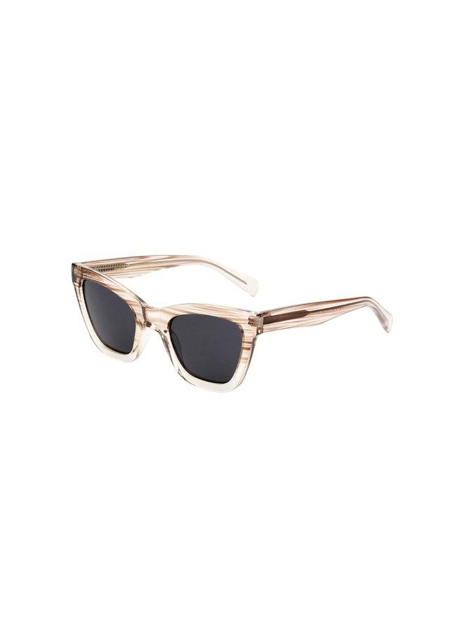 Big Kanye Sunglasses - Demi Grey/Crystal Transparent