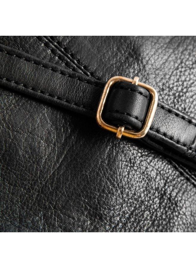 Small 2 Pocket Bag - Black