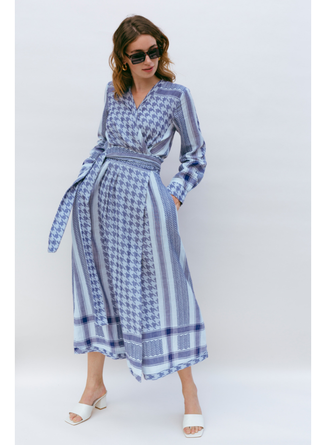 Jennifer Maxi Dress - Ballad Blue