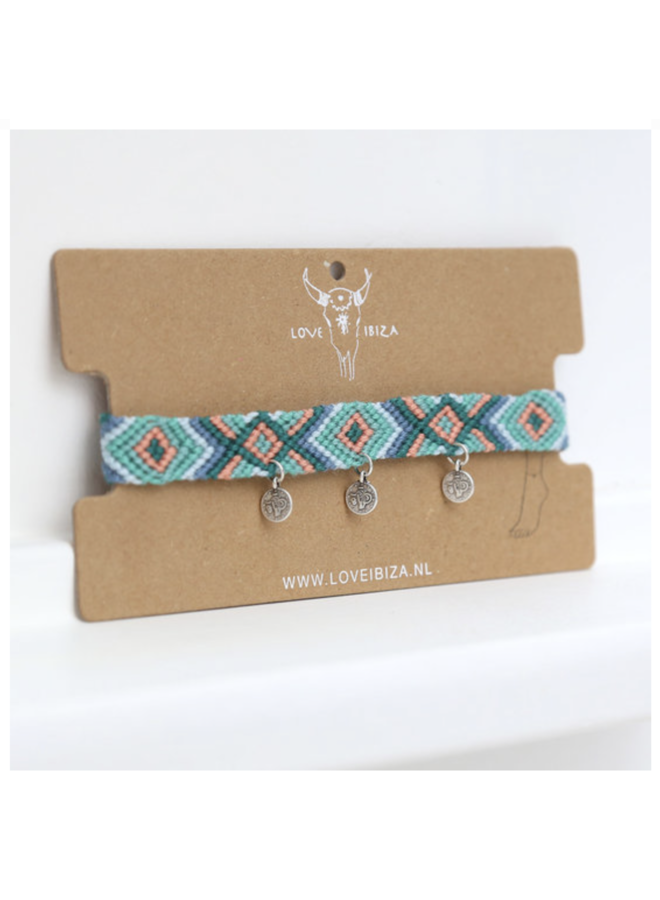 Isola Cotton Anklet