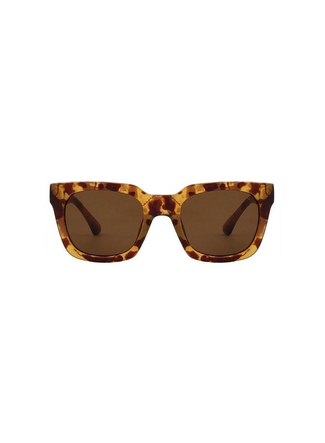 Nancy Sunglasses - Demi Lt Brown Transparent