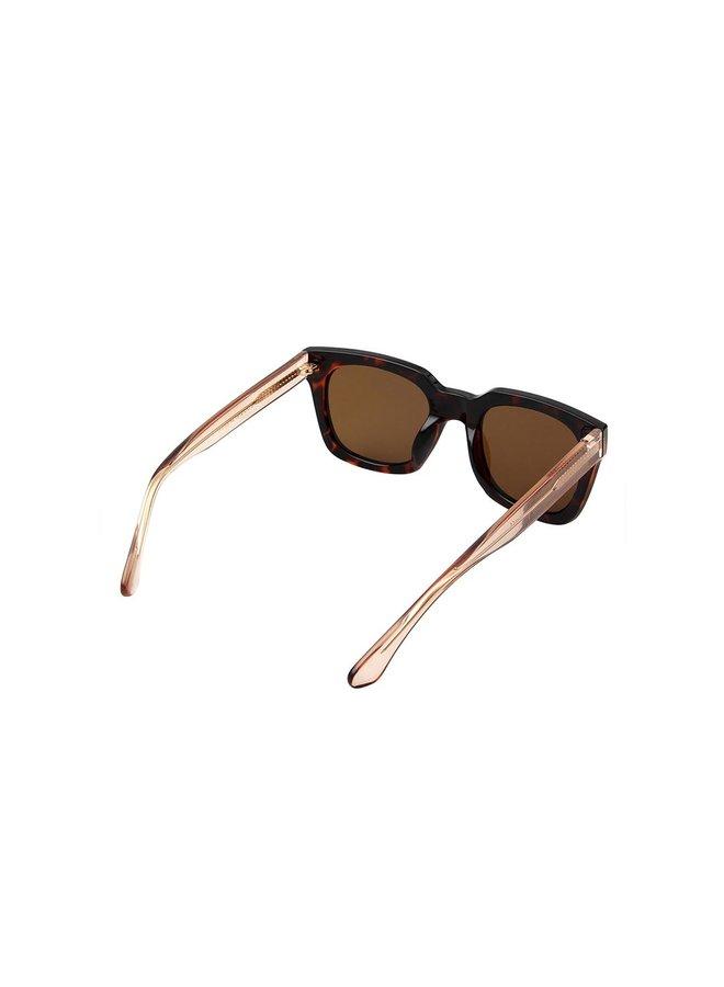 Nancy Sunglasses - Demi Tortoise