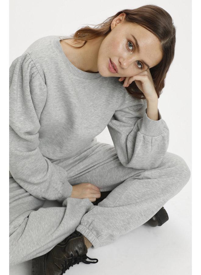 Dita Pullover - Pearl grey mel