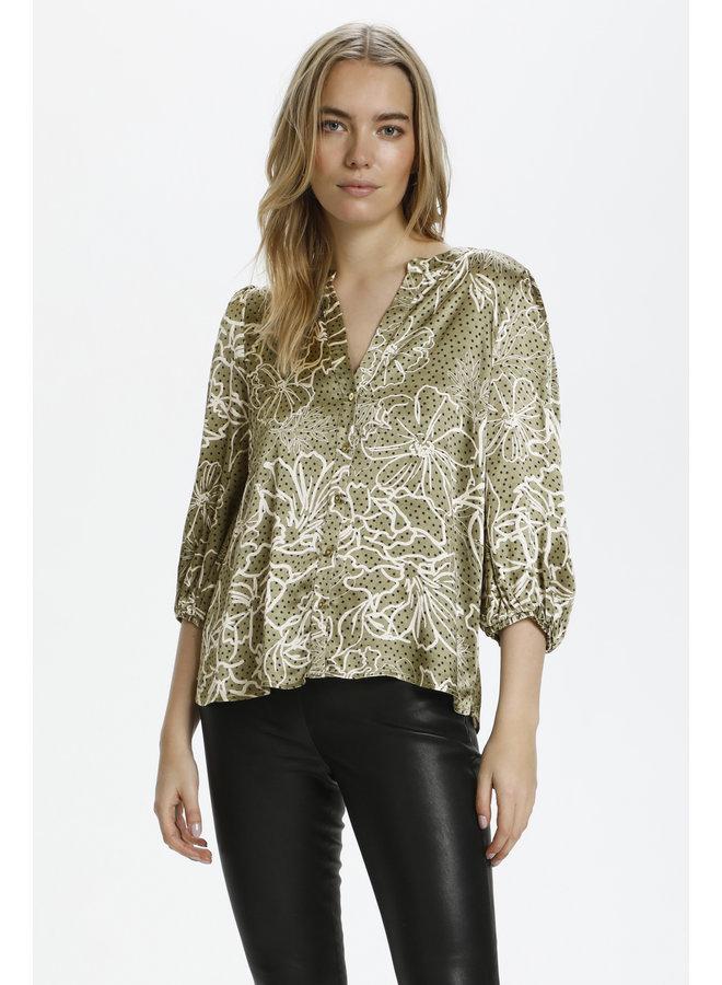 Emily Shirt - Burnt Olive
