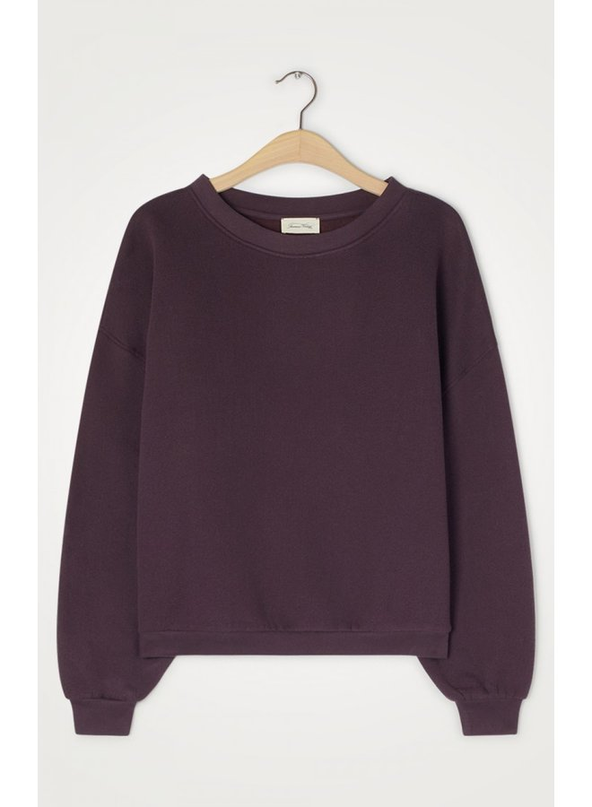 Ikatown Sweatshirt - Aubergine