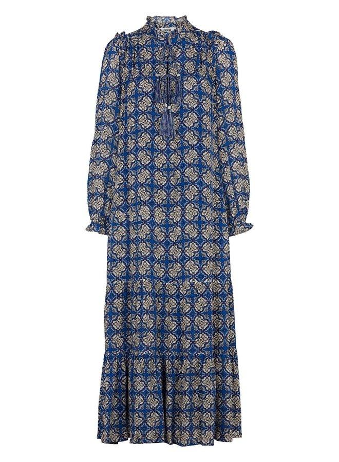 Telsa Dress - Mazarine Blue