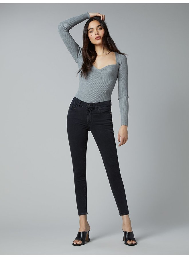 Florence Mid Rise Ankle Skinny - Ecplise