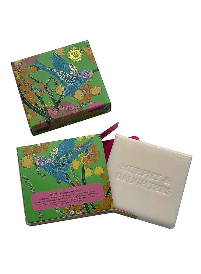 Rectangular Boxed Soap - Lime