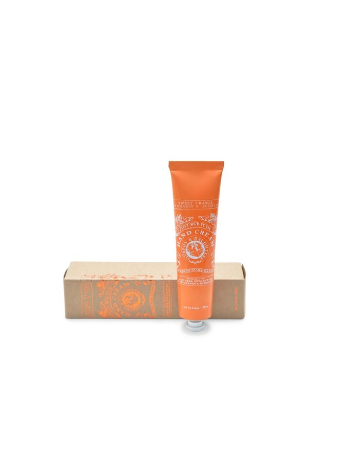 Hand Cream - Sweet Orange, Mandarin & Jasmine