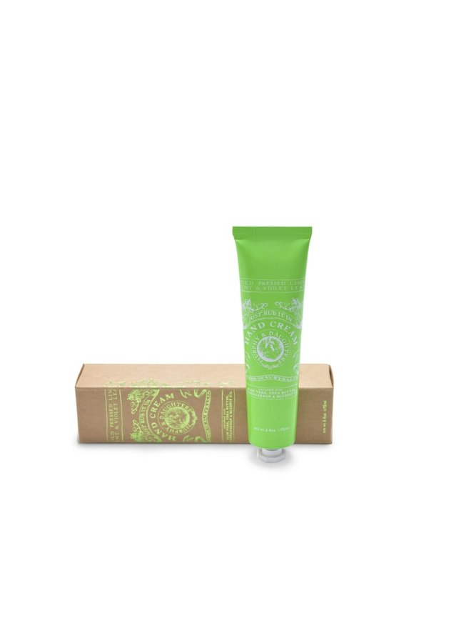 Green Hand Cream - Cold Pressed Leaves