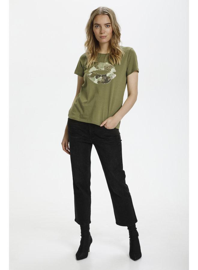 Gith T-shirt - Burnt Olive