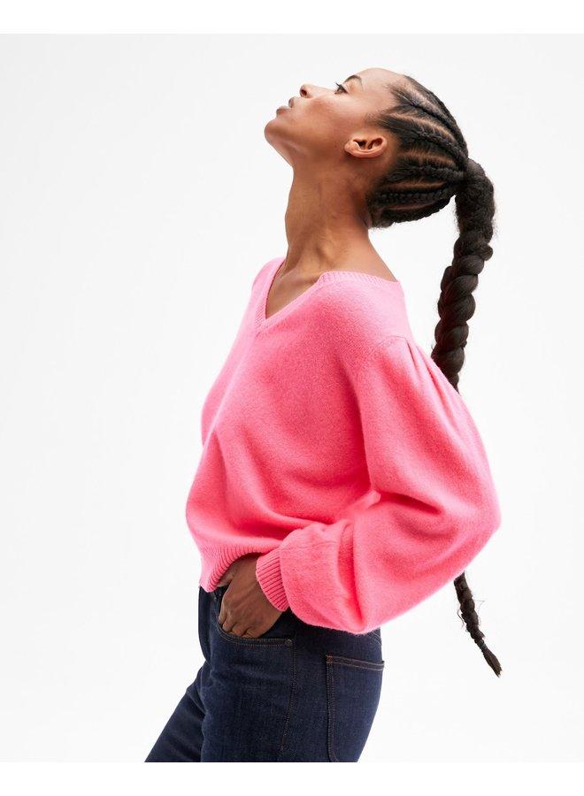 Celine Knit - Rose Fluro