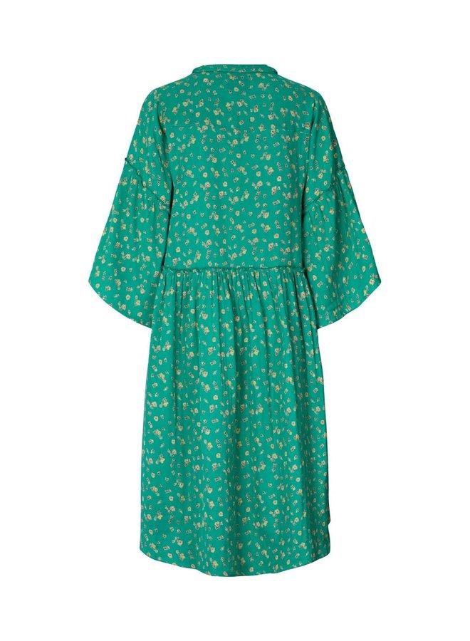 Feline dress - Green