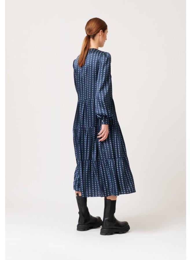 Cathrin Shirt Dress - Pearl Blue