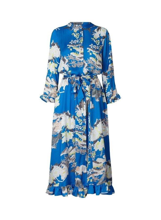 Harper Dress - Blue