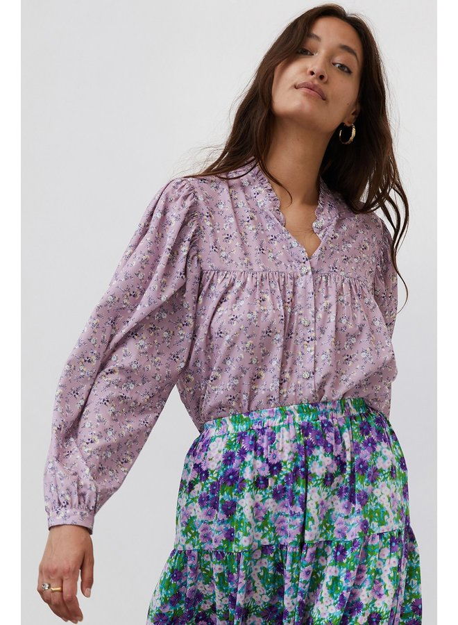 Cara Shirt - Flower Print
