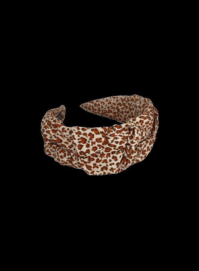 Napoli hairband - Beige Brown