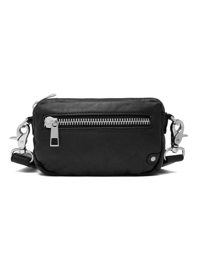 Small Zipper Bag - Black