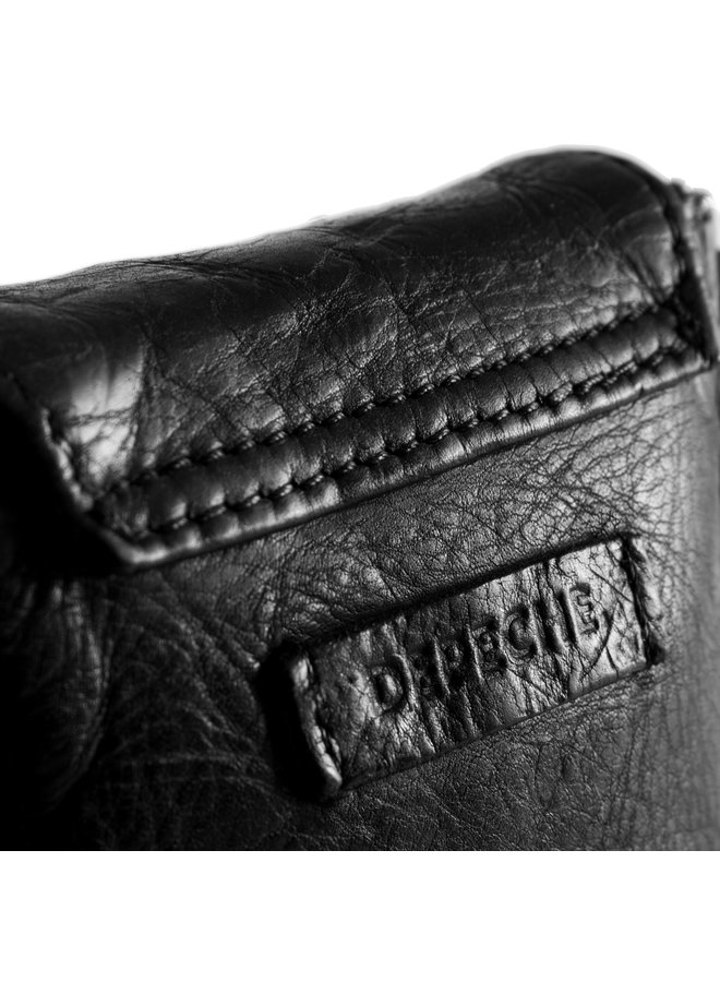 Multi Studded Mobile Bag - Black