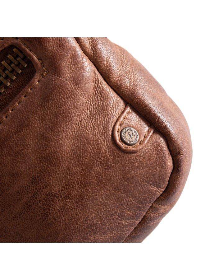 Small Zipper Bag - Chestnut
