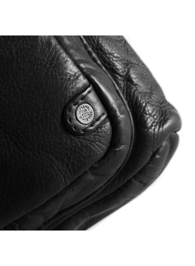 Multi Studded Crossover Bag - Black